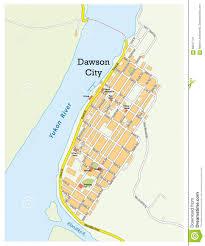 Map Of Yukon Dawson City Canada Map Canada Map