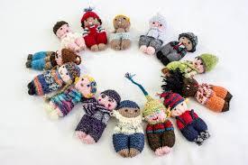 knitting pattern doll toy pocket doll pdf amigurumi