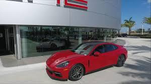 porsche panamera 2017 carmine red porsche panamera 330 hp porsche west broward