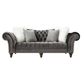Gray Leather Sofa Gray Leather Sofa Trendy Leather Furniture Leather Loveseats El