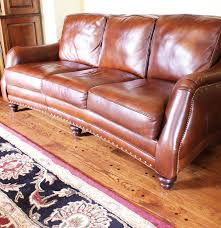 Hancock And Moore Leather Chair Prices Hancock U0026 Moore Genuine Leather Sofa Ebth