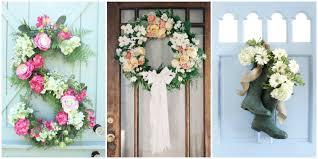 30 spring wreaths easter u0026 spring door decorations ideas