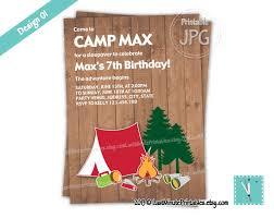usd 6 99 campout camp birthday party printable invit u2026 flickr