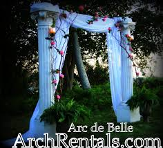 wedding arches los angeles vintage green pink silver white flowers garden outdoor ceremony