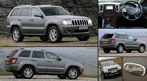 jeep grand cherokee grey jeep grand cherokee overland uk 2008 pictures information