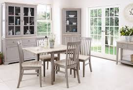 grey kitchen table and chairs statement furniture florence dove grey matt painted washed