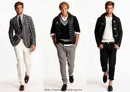 tendencias en ropa para hombre otono invierno 2014 2015 camisa denim moda