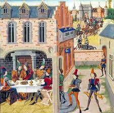 cuisine au moyen age dîner buffet au moyen age cuisine française recette médiévale
