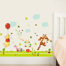 classic pooh wall decals winnie the for nursery baby clic disney