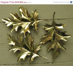 Home Interior Home Parties by On Sale Home Interiors Metal Oak Leaves Granny By Rivertownvintage