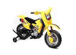 amazon com best ride on cars mini dirt bike ride on 6v yellow