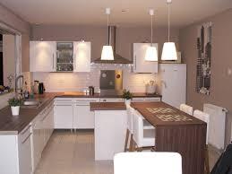 plan de cuisine ouverte sur salle à manger cuisine ouverte sur salle manger bar pour cuisine