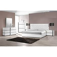 Seville Bedroom Furniture by Amazon Com Modern Seville 4 Piece Bedroom Set Eastern King Size