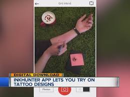 inkhunter app uses augmented reality to let you try on tattoo