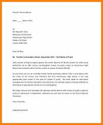 sample appeal letter high admission cover letter templates
