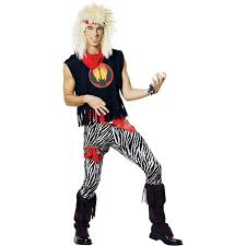 80 halloween costume amazon com 80s rock band halloween costume size standard