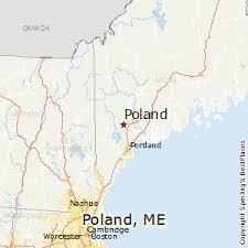 maine map with cities best places to live in poland maine