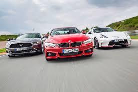 2014 nissan 370z quarter mile bmw 435i vs ford mustang ecoboost vs nissan 370z nismo youtube