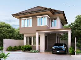 Floor Plan For 2 Storey House Two Beautiful Contemporary House Plan Amazing Architecture