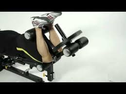 Powertec Weight Bench Legs Abs Workout On The Powertec Workbench Utility Bench With Leg
