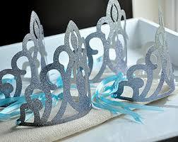 elsa crowns frozen party favors frozen birthday party