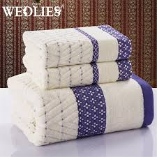 bath towel sets cheap get cheap striped bath towel sets aliexpress alibaba