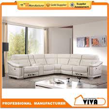 latest sofa designs 2016 white color sectional leather sofa