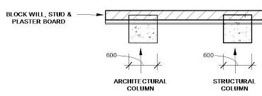 Difference Between Structural And Decorative Design Revit Fix Some Differences Between U201ccolumns U201d U0026 U201cstructural Columns U201d