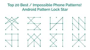 pattern lock design images top 20 best impossible phone patterns android pattern lock star