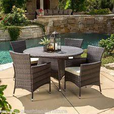 outdoor wicker dining furniture ebay