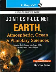 csir ugc net jrf earth atmospheric ocean and planetary sciences