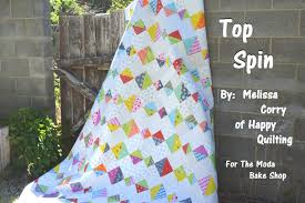 zen of design patterns top spin quilt moda bake shop