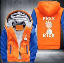2017 wholesale new rick and morty hoodie logo winter jiarong