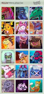 Meme Types - pokemon favorite types meme by arkay9 on deviantart