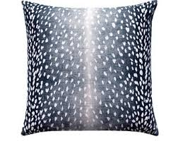 Linen Covers Gray Print Pillows White Walls Grey Animal Print Pillow Etsy