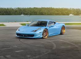 gold ferrari 458 italia ferrari 458 italia sv1 deep concave fs strasse wheels