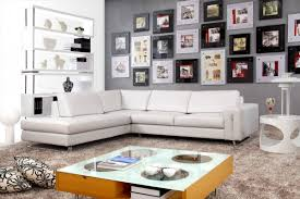 modern off white leather sectional sofa