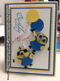 beautiful minion happy birthday cards for kids handmade4cards com