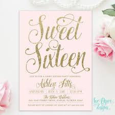 sweet 16 invitations sweet 16 invites cheap archives smart worker sweet 16 invitations