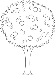 apple tree coloring pages top 89 apple tree clip art free clipart image