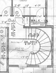 Floor Plans With Spiral Staircase Curved Stairs Again Carpentry Contractor Talk