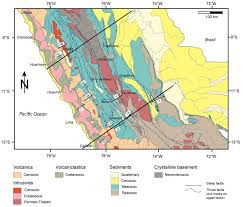 Map Of Peru South America by Geosciences Free Full Text Mesozoic U2013cenozoic Evolution Of The