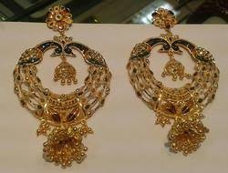 bengali earrings gold earrings manufacturers gold earrings exporters