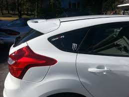 hoonigan stickers on cars ford st stickers kamos sticker