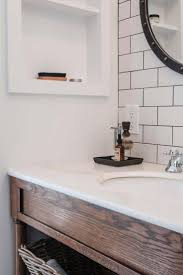 bathroom subway tile backsplash of inspiring carrara marble