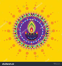 diwali candle light indian new year element vector bjyapu modern