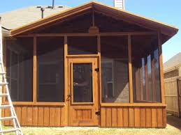 Outdoor Screen House by Screen Rooms North Texas Custom Outdoors