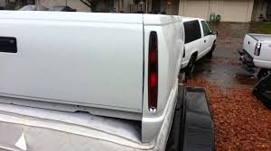 1998 chevy silverado tail lights 88 98 chevy box with cadillac tail lights 4 sale youtube