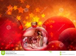 christmas nativity scene ornaments royalty free stock photo