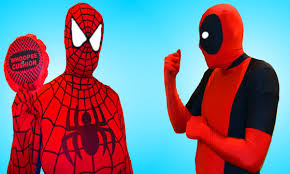 coca cola halloween costume deadpool vs spiderman coca cola prank w spiderman pillow poo